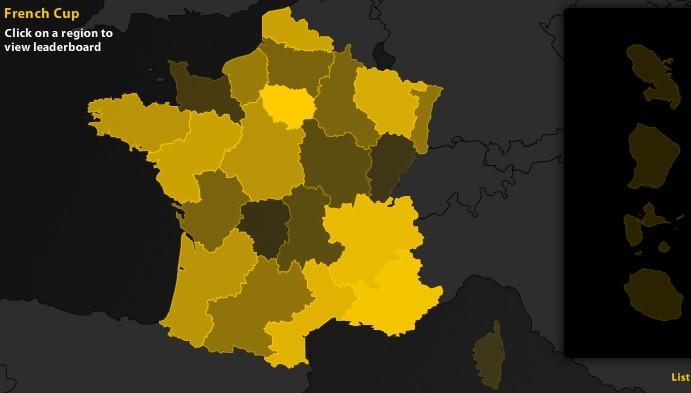Coup d'envoi de la Coupe de France de poker
