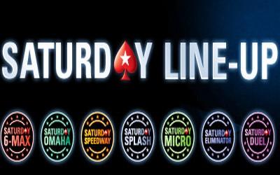 PokerStars lance les Saturday Tournaments