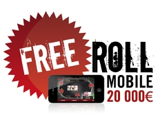 Freeroll spécial mobile sur Winamax