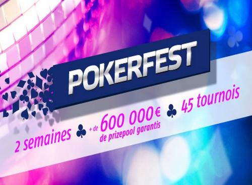 Le Pokerfest du 22 avril au 6 mai sur PMU Poker et PartyPoker