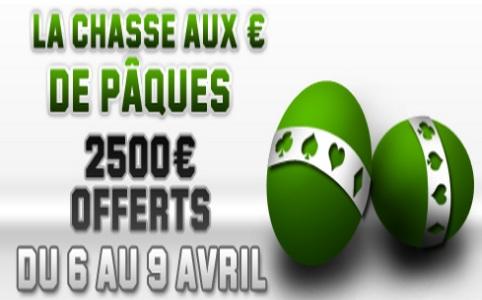 Chasse aux euros sur Unibet Poker