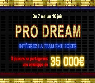 Des contrats pros à prendre sur PMU Poker