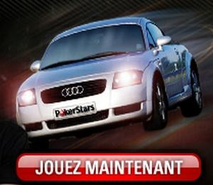Une Audi TT à gagner pour le deuxième anniversaire de Winamax