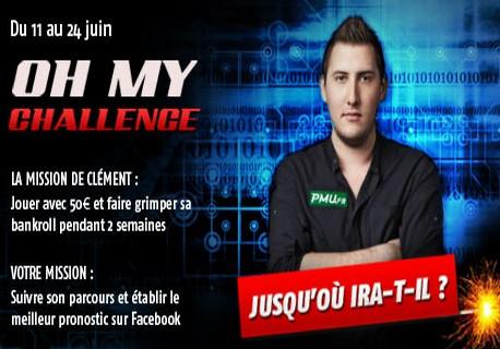 Un nouveau challenge sur les tables de PMU Poker avec Clément Beauvois