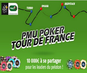 Le PMU fait son Tour de France du poker