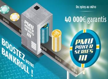 PMU Poker Series et promo spécial Ronaldo