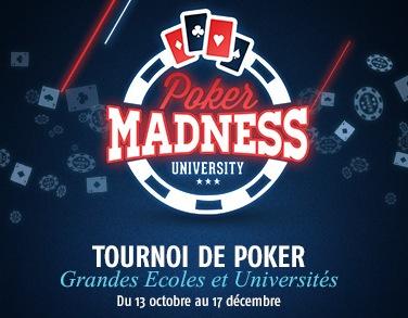 Deux tournois live de poker pour les étudiants