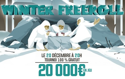 Le Winter Freeroll de retour vendredi