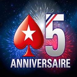 PokerStars fête ses 5 ans durant tout ce mois de juin