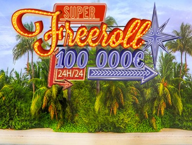 Le Super Freeroll à 100 000 euros est de retour sur Winamax